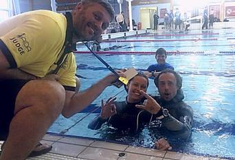 freediving champions from Ware