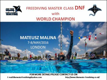 Freediving masterclass DNF