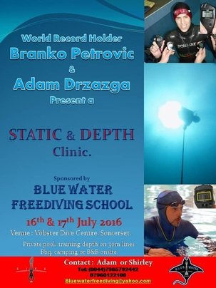 bluewater freediving school presents