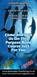 -----------London International Dive Show 2015------------ Blue Water Freediving School