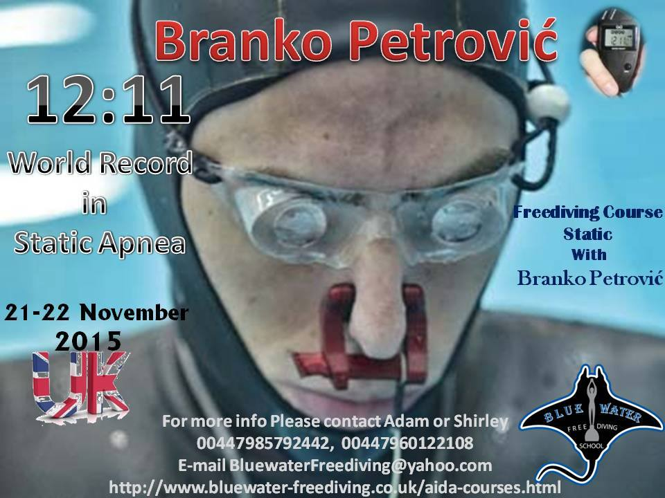 Freediving course with Branco Petrovic