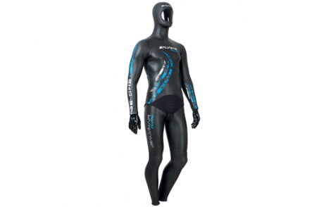 1.55mm freediving suit